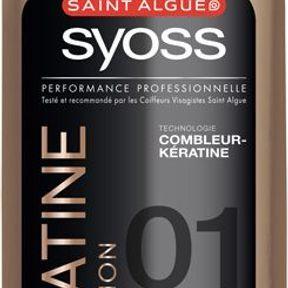 Le shampooing à la kératine de Saint Algue Syoss