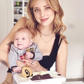 Chiara Ferragni et son fils Leone Lucia