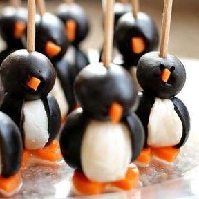 Pingouin en olive