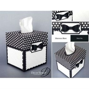 Transformer votre carton en boîte à mouchoirs