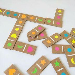 Transformer votre carton en domino
