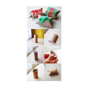 Transformer votre carton en paquet cadeau