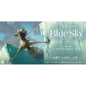 Exposition L'Art du studio Blue Sky
