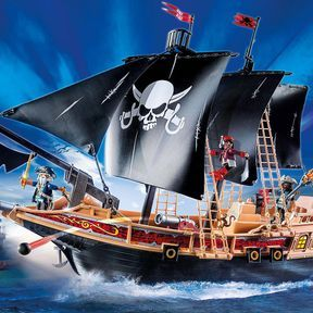 Bateau pirates des ténèbres, Playmobil