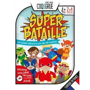 Jeu de cartes Super Bataille, Coq6grue