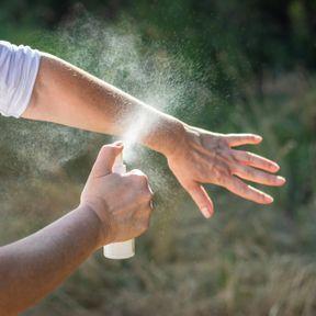 Un spray de citriodiol