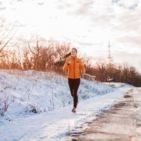Eviter les séances intenses quand il fait très froid