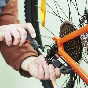 Avant toute sortie, on vérifie l'état de son vélo !