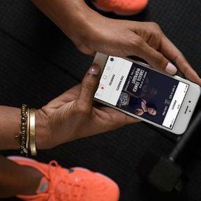 Une appli : Nike + Training Club