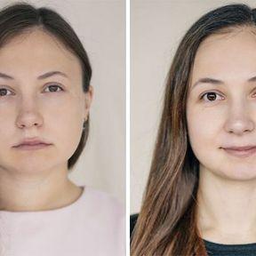 """""""Devenir mère""""- 33 femmes photographiées avant et après la naissance de leur enfant #14"""