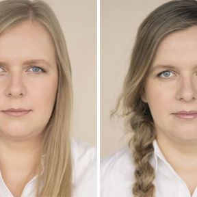 """""""Devenir mère""""- 33 femmes photographiées avant et après la naissance de leur enfant #25"""