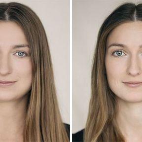 """""""Devenir mère""""- 33 femmes photographiées avant et après la naissance de leur enfant #27"""