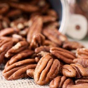 Les noix de pécan