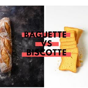 Calories : Pain Baguette vs biscotte