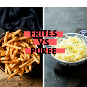 Calories : Frites vs purée