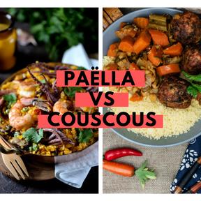 Calories : Paëlla vs couscous