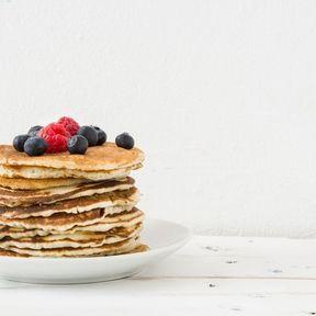 Menu n°5 : pancakes à la farine de coco