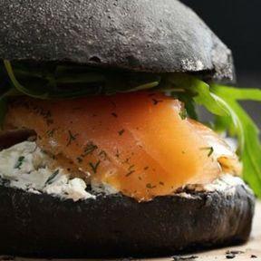 Le bun à hamburger