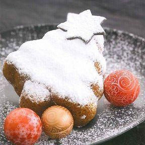 Sapin de Noël à l'orange