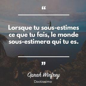 Citation d'Oprah Winfrey