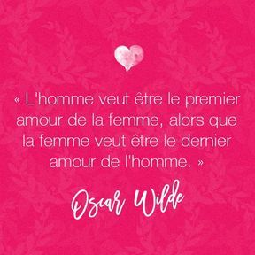 Citation amour d'Oscar Wilde