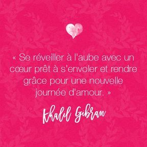 Citation amour de Khalil Gibran