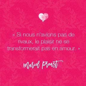Citation amour de Marcel Proust