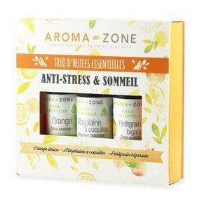Coffret trio d'huiles essentielles anti-stress, Aroma Zone