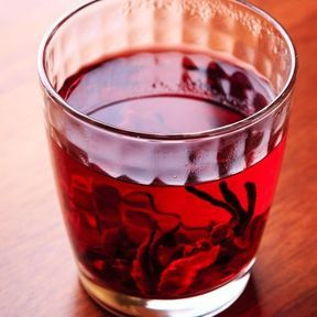Une tisane de vigne rouge