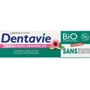 Dentifrice Gencives Sensibles, Dentavie