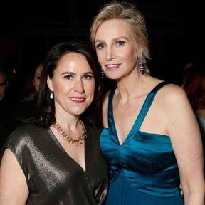 Jane Lynch & Lara Embry
