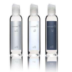 Huile de massage et lubrifiant intime. Concept S