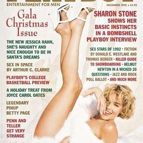 Sulfureuse Sharon Stone. Décembre 1992