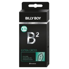 Préservatifs B2 EXTRA GROS BILLY BOY