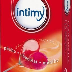 Préservatifs Gourmandiz Intimy