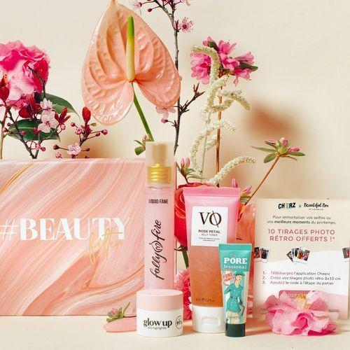 #BeautyFilter : une peau sans imperfections avec Beautiful Box by Au Feminin